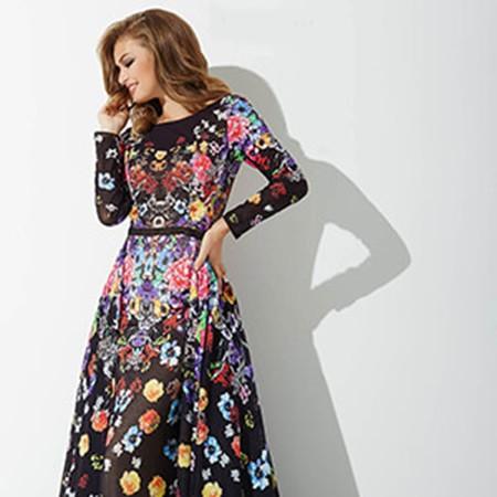 6edf71ca8fdc7 Jovani Multi Long Sleeve Print Prom Dress 33925 – House of Joy Couture