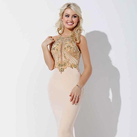12f0fdd9ce730 Jovani Blush Pink Jersey Prom Dress 33473 – House of Joy Couture