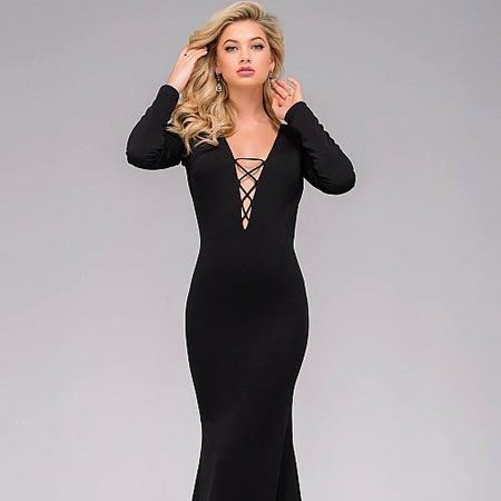 jovani Jersey Long Sleeve Prom Dress 45062 – House of Joy Couture